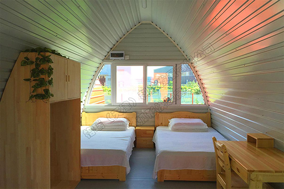 野奢帐篷酒店普通标准间